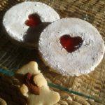 Biscuit sablés confiture sans gluten, sans lait, sans œuf