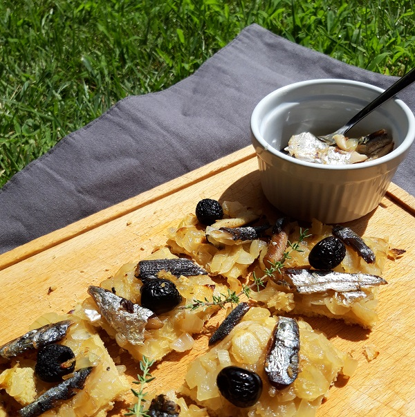 Pissaladière sans gluten