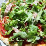 Pizza sans gluten et sans lactose