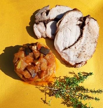 Ratatouille, accompagnement sans gluten, sans lactose