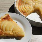 Tartes aux poires sans gluten, sans oeuf