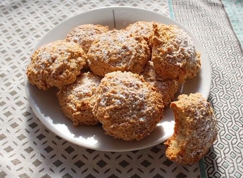 Recette biscuit sans gluten, sans lait, sans oeuf, sans farine