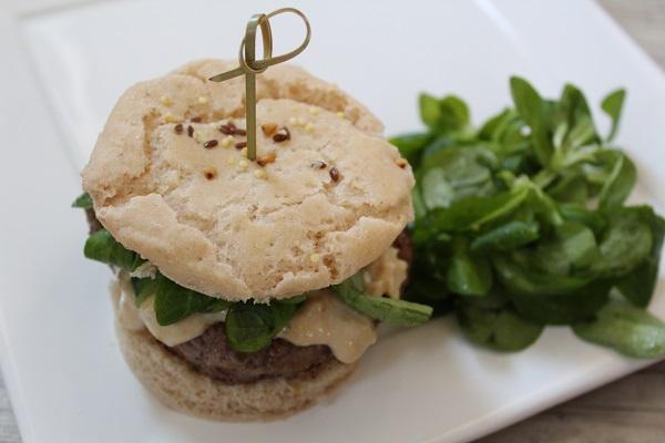 Comment faire un hamburger sans gluten et sans lactose ?