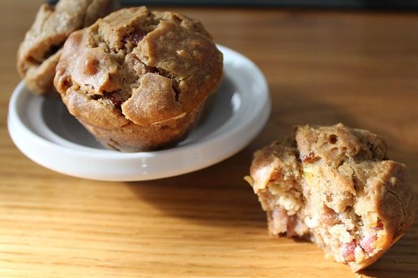 Muffins salés sans gluten, sans lait, sans œuf