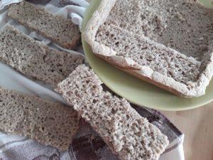 Etape realisation pain surprise sans gluten