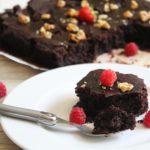 Recette de brownie pour un petit déjeuner sans gluten, sans lait, sans oeuf équilibré et protéiné